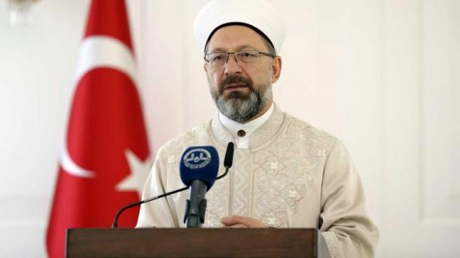 Diyanet İşleri Başkanı Erbaş'tan bayram namazı açıklaması