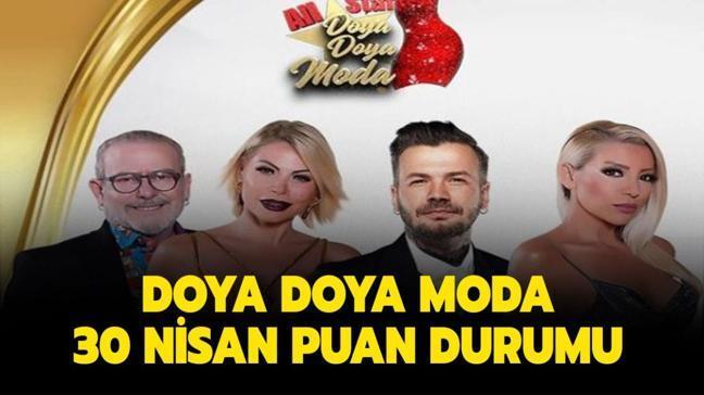 """Doya Doya Moda kim elendi, kim birinci oldu"""" Doya Doya Moda 30 Nisan 2021 puan durumu burada!"""