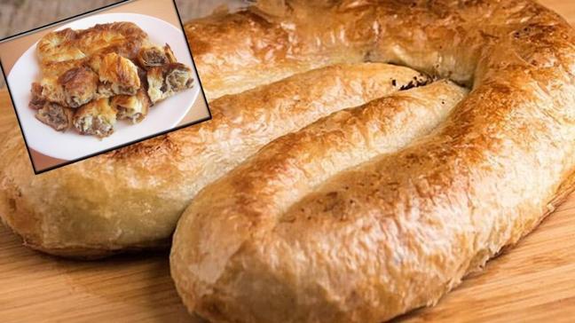 İftara ev yapımı Sarıyer böreği tarifi