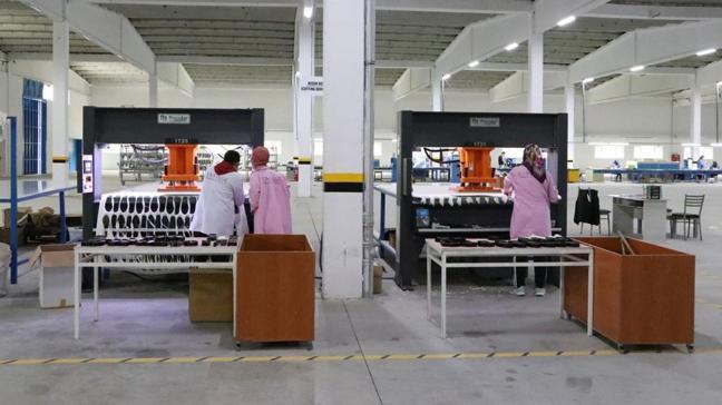 KOSGEB desteğiyle kurulan fabrikadan Avrupa'ya ihracat yapılıyor