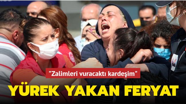 Yürek yakan feryat... Şehit Mehmet Kırmızı'nın naaşı Adana'ya getirildi