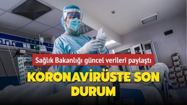 Sağlık Bakanlığı koronavirüste güncel verileri paylaştı... İşte 1 Mayıs koronavirüs tablosu