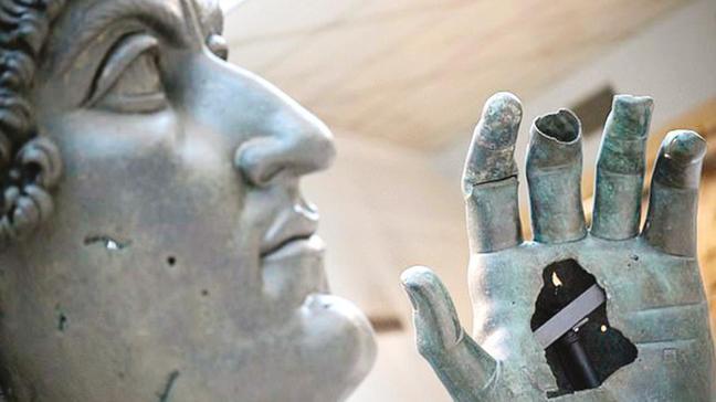 500 yıl sonra parmağı döndü