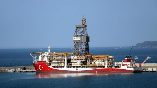 Sismik araştırma gemisi Barbaros Hayreddin Paşa, Karadeniz'e ulaştı