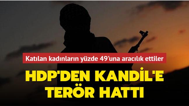 PKK'ya katılan kadınların yüzde 49'una HDP aracılık ediyor