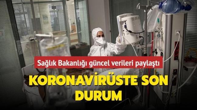 Sağlık Bakanlığı Kovid-19 salgınında son durumu açıkladı... İşte 2 Mayıs koronavirüs tablosu