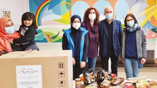 DİTİB'den sığınmacılara Ramazan yardımı