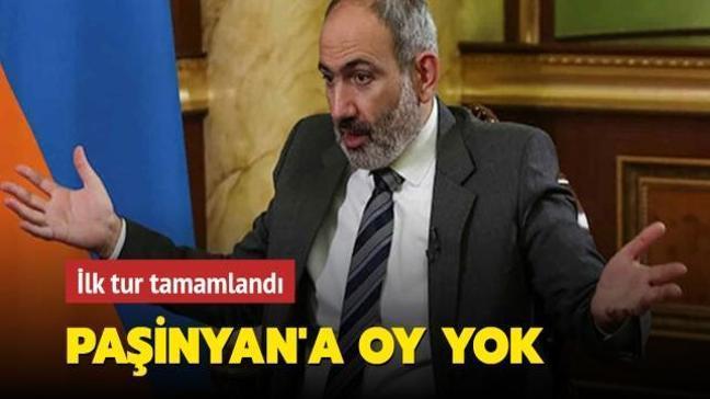 Ermenistan'da Paşinyan'a oy yok! İlk turu kaybetti