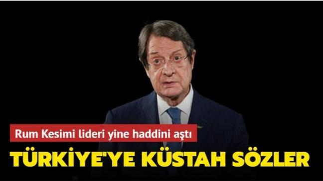 Rum Kesimi lideri Anastasiadis yine haddini aştı! Osmanlıyı hedef aldı
