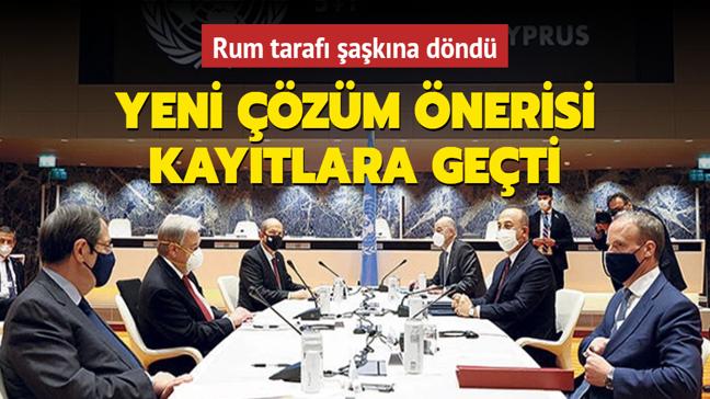 Rum tarafı şaşkına döndü: Türk tarafı yeni çözüm önerisini kayıtlara geçirdi