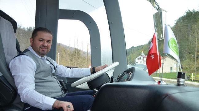 Belediye Başkanı belediye otobüsü şoförü oldu