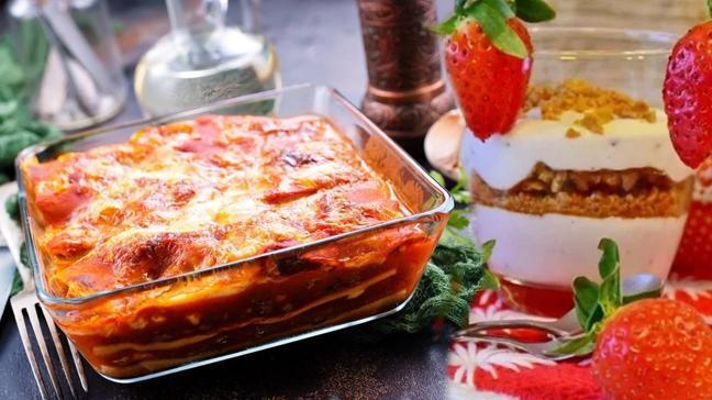 """Bugün ne pişirsem"""" Ramazan'ın 21. Günü iftar menüsü! Bugünün menüsü: Mantarlı lazanya ve magnolia"""