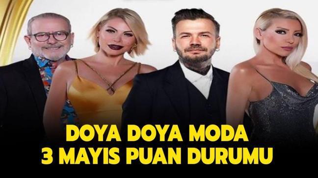 """Doya Doya Moda All Star gün birincisi belli oldu! Doya Doya Moda 3 Mayıs 2021 puan durumu nasıl"""""""