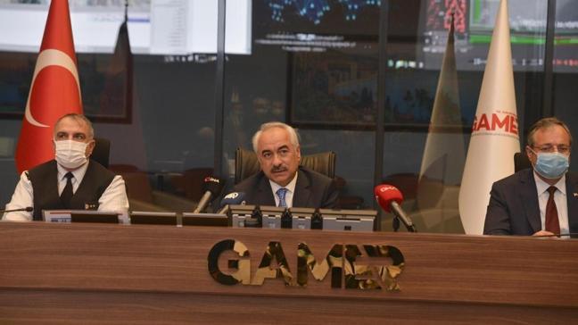 İçişleri Bakan Yardımcısı Ersoy, tam kapanmaya ilişkin çalışmaları GAMER'de takip etti