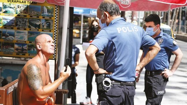 İngiliz turistten polise taciz ve iftira