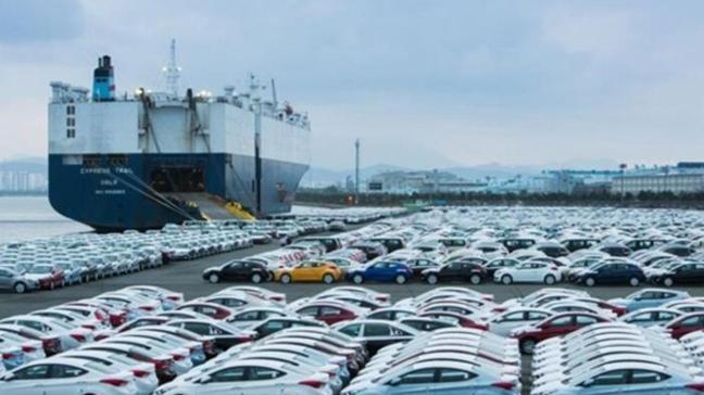 Nisan ayında otomotiv endüstrisi en fazla ihracatla ipi göğüsledi
