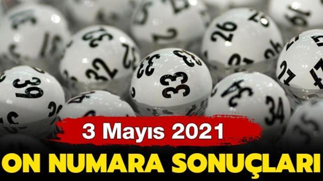 On Numara 3 Mayıs 2021 sonuçları belli oldu