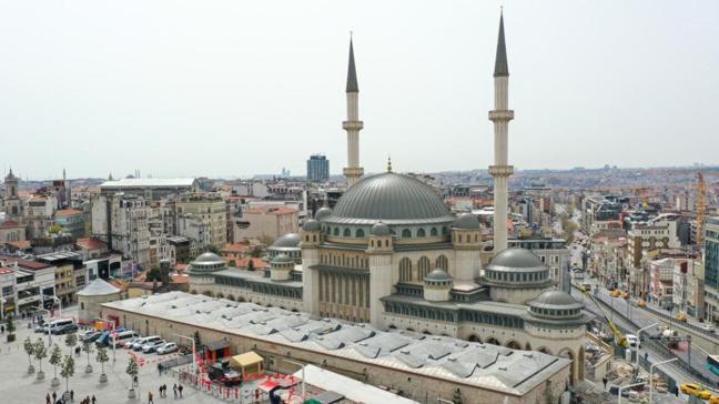 """Taksim Camii ne zaman açılacak"""" Taksim Camii açılış tarihi belli oldu mu"""""""