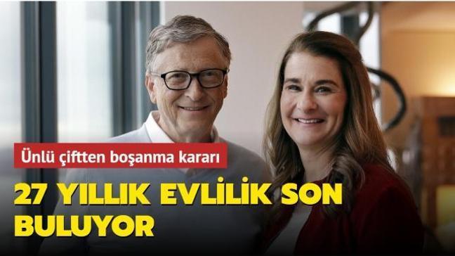 27 yıllık evlilik son buluyor! Bill Gates ve Melinda Gates çiftinden boşanma kararı