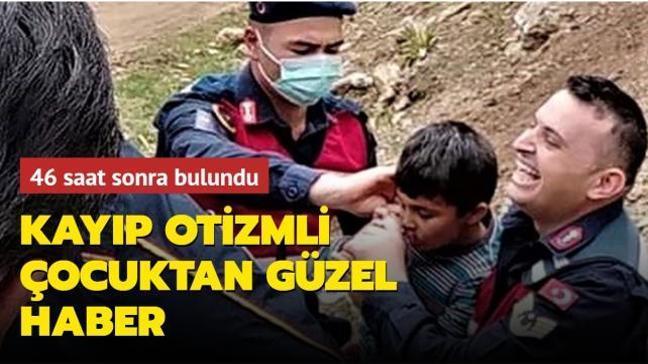 Burdur'da kaybolan otizmli çocuktan güzel haber: Otizmli Kerim canlı olarak bulundu