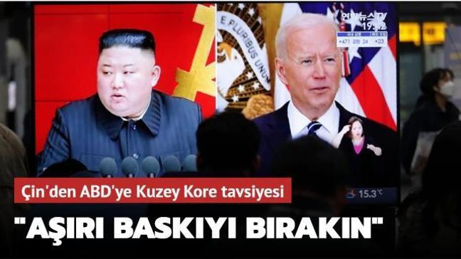 Çin'den ABD'ye Kuzey Kore tavsiyesi: Aşırı baskıyı bırakın