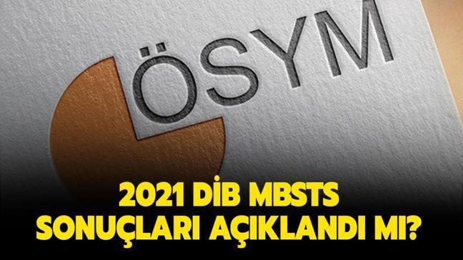 2021 DİB MBSTS sonuçları açıklandı: ÖSYM Diyanet İşleri Başkanlığı sınav sonuçları sorgulama ekranı!