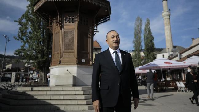 Bakan Çavuşoğlu, Bosna Hersek'in başkenti Saraybosna'da