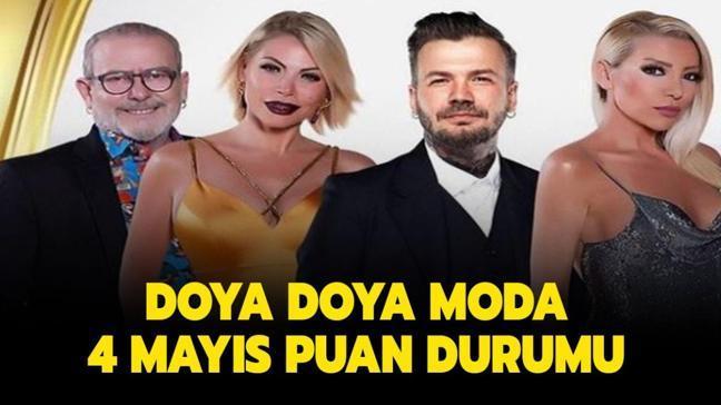 """Doya Doya Moda All Star gün birincisi kim oldu"""" Doya Doya Moda 4 Mayıs 2021 puan durumu burada!"""