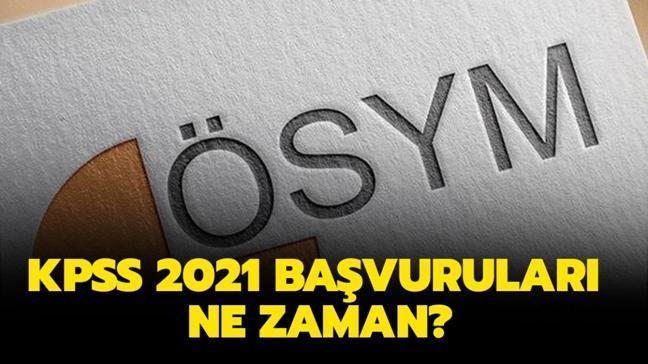 """KPSS 2021 sınav takvimi belli oldu mu"""" KPSS 2021 başvuruları ne zaman başlayacak"""""""