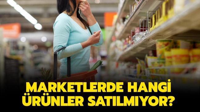"""Tam kapanmada marketlerde hangi ürünlerin satışı yapılmayacak"""" Marketlerde yasaklanan ürünler neler"""""""