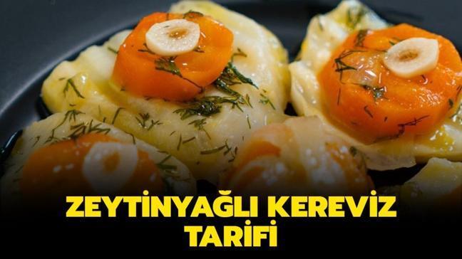 """Gelinim Mutfakta zeytinyağlı kereviz tarifi, malzemeleri! Osmanlı usulü zeytinyağlı kereviz nasıl yapılır"""""""