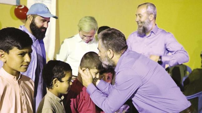 TDV'den yetimlere iftar sofrası