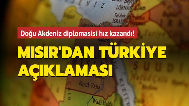 Mısır'dan Türkiye açıklaması: Türk heyeti 5-6 Mayıs'ta Kahire'de