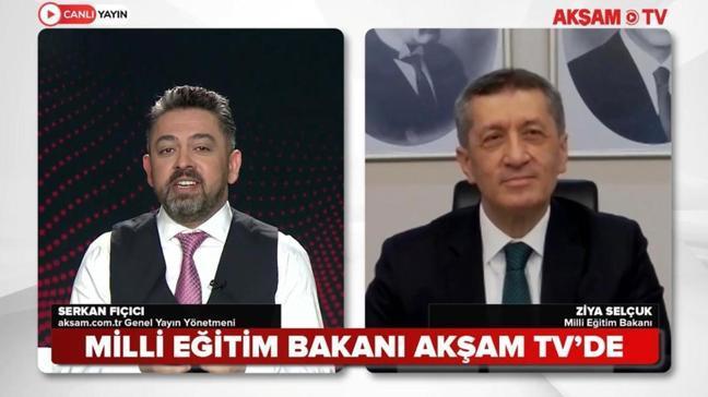 Bakan Selçuk AKŞAM Web TV'ye konuştu! 'Öğretmene ek atama için çalışıyoruz'