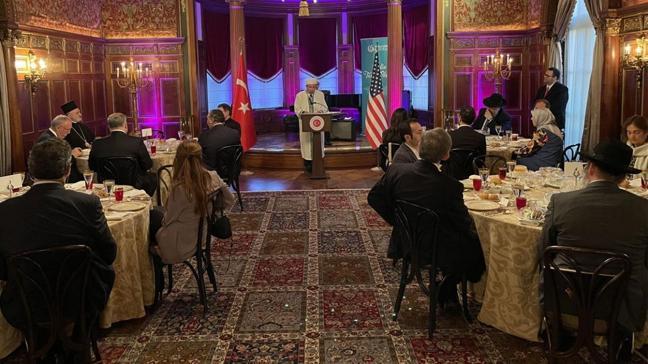 Türkiye'nin Washington Büyükelçisi Amerikalı din temsilcilerini iftarda ağırladı
