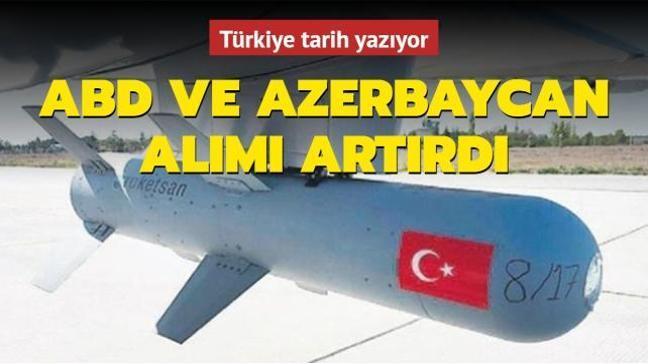 Türkiye tarih yazıyor: ABD ve Azerbaycan alımı artırdı