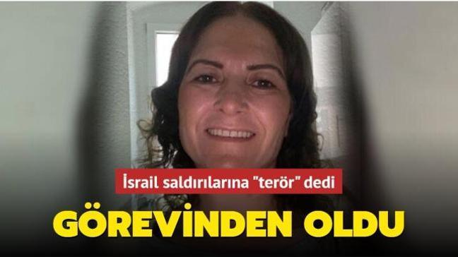 """İsrail saldırılarına """"terör"""" dediği için Türk siyasetçi görevinden oldu"""
