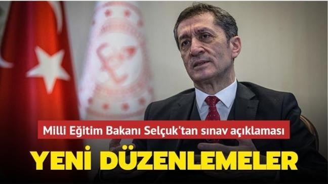 Milli Eğitim Bakanı Selçuk'tan sınav açıklaması