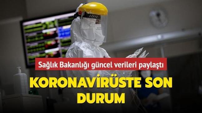Sağlık Bakanlığı Kovid-19 salgınında son durumu açıkladı... İşte 21 Mayıs 2021 koronavirüs tablosu