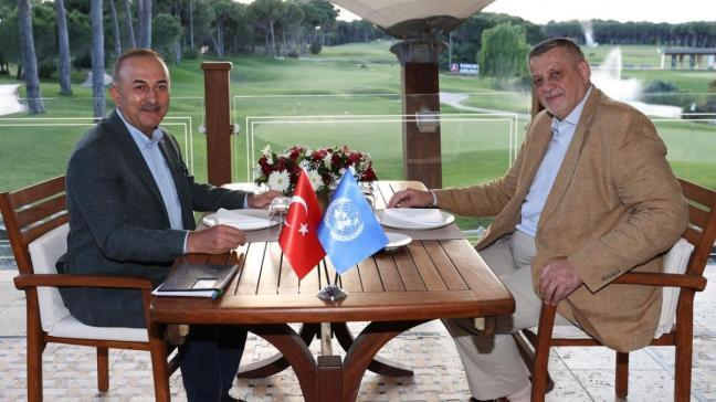 Bakan Çavuşoğlu, BM Libya Özel Temsilcisi Jan Kubis ile görüştü