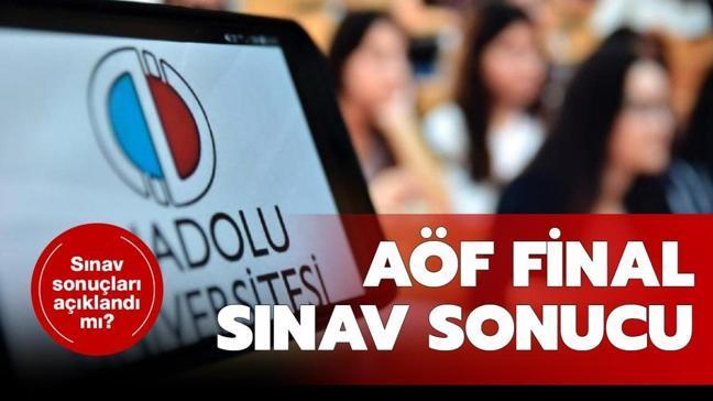 """AÖF sınav sonuçları açıklandı mı""""  2021 AÖF final sınavı sonuçları ne zaman açıklanacak"""""""