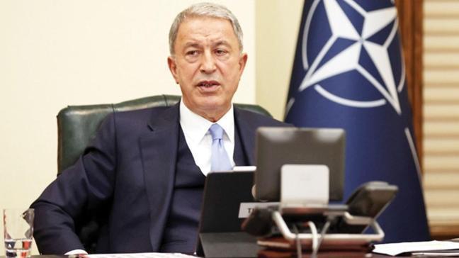 Milli Savunma Bakanı Akar'dan ABD'ye mesaj: NATO üyeliğimiz F-35'ten S-400'den derindir