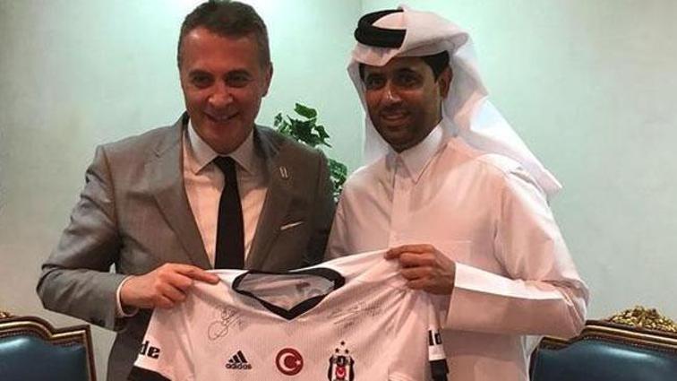 Fikret Orman, PSG'nin başkanı ile görüştü!