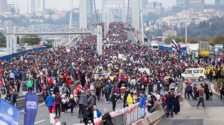 Vodafone 13. İstanbul Yarı Maratonu'nda 50 ülkeden 8 bin sporcu yarışacak