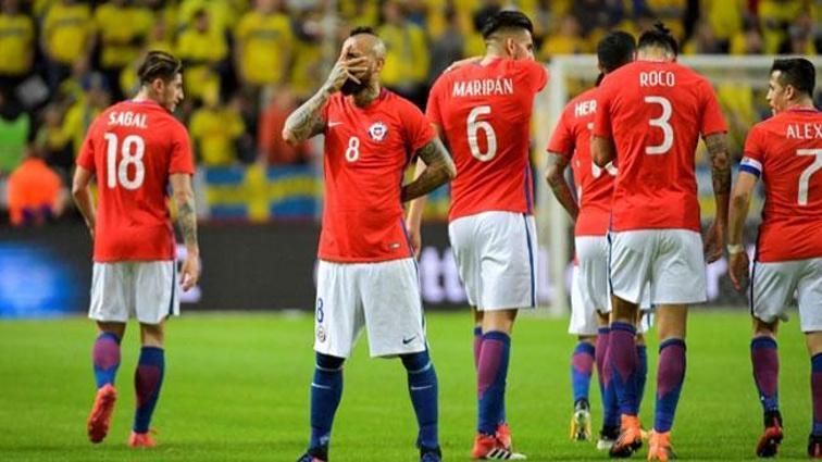 Şili, İsveç'i son dakika golüyle mağlup etti!