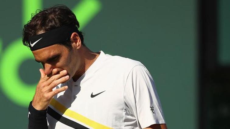Roger Federer, dünya 175'incisi Kokkinakis'e yenilerek Miami Açık Tenis Turnuvası'na veda etti