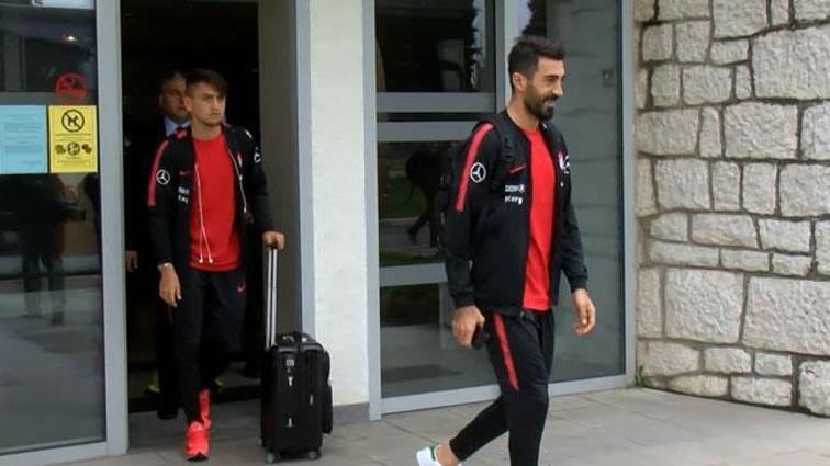 A Milli Futbol Takımı Karadağ'da