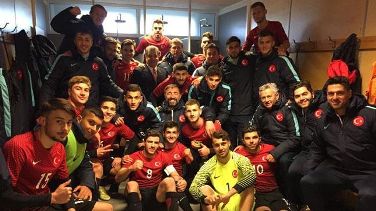 U19 Milli Takımı, Avrupa Şampiyonası'na gitmeye hak kazandı!