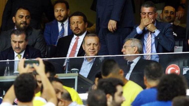 Fenerbahçe ve Beşiktaş'tan Cumhurbaşkanı Erdoğan'a teşekkür mesajı