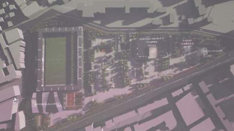 Hüseyin Avni Aker Stadyum Alanı Kentsel Dönüşüm Projesi basına tanıtıldı